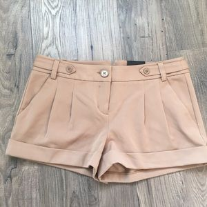 NWT Size 4 Express Camel colored Shorts